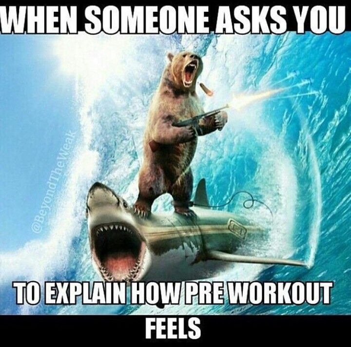Gym humor....pre-workout // beachbody performance // energize