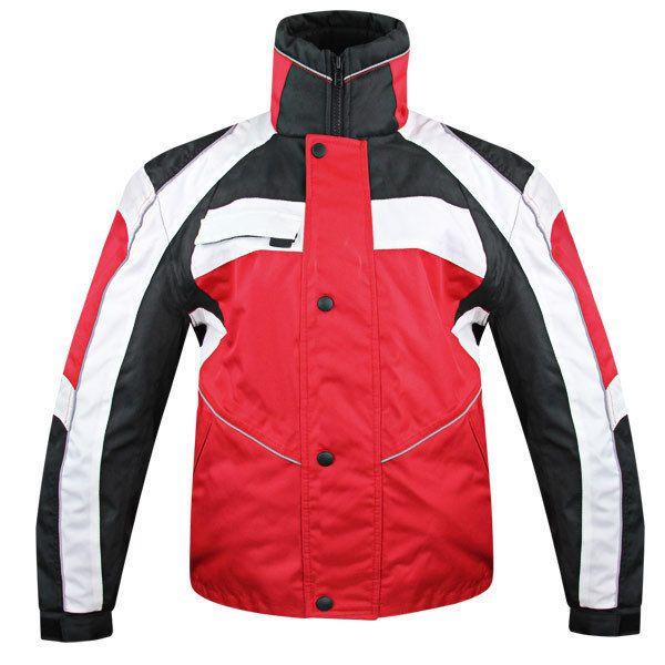 Snow Master 9925 Mens InsulTex Red Wind Waterproof Snowmobile Motorcycle Jacket  #Xelement #Motorcycle
