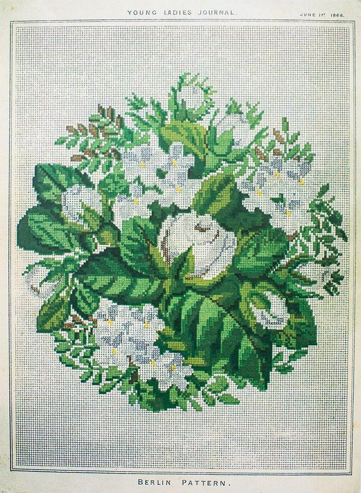 Berlin Work Pattern 'Bouquet of Flowers'