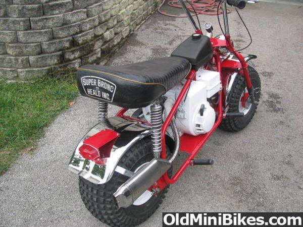Super Bronc Mini Bike : Heald super bronc vt oldminibikes forum