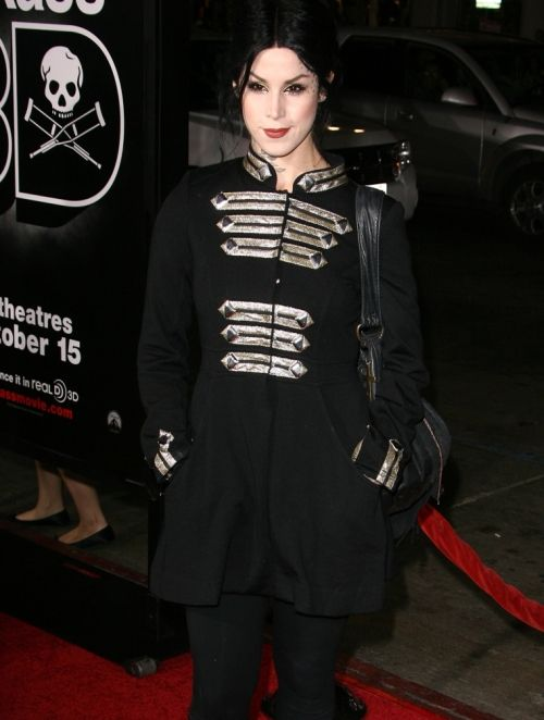 Kat Von D Recent | Kat Von D, seen here at a recent movie premiere, has been with Jesse ...