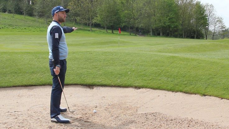 Tips: Andy Sullivan on how to play a 30 yard bunker shot