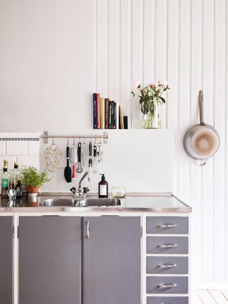 Vicky's Home: Un pequeño apartamento nórdico de 38,5 mts / Small Nordic Apartment 38,5 mts