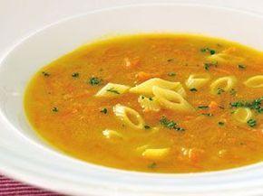 Mrkvová polévka Kluci v akci