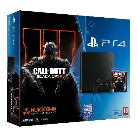 Sony PS4 500GB Console with Black Ops 3 Bundle There has never been a games system as advanced as Sony PlayStation 4. Stunning graphics performance, unparalleled customised memory and processors with 10 times the power of PlayStation3 have given t http://www.MightGet.com/may-2017-1/sony-ps4-500gb-console-with-black-ops-3-bundle.asp