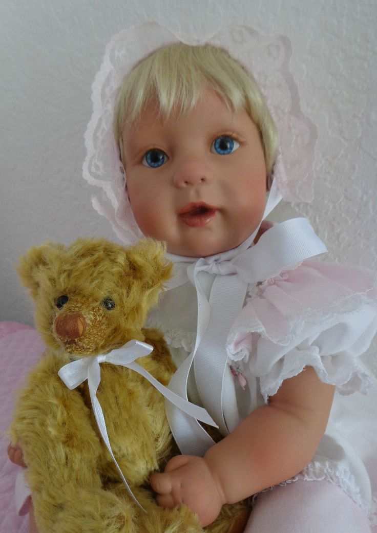 """Sarah and Teddy"""" - Reborn toddler doll from Apple Valley """"Joanna ..."""