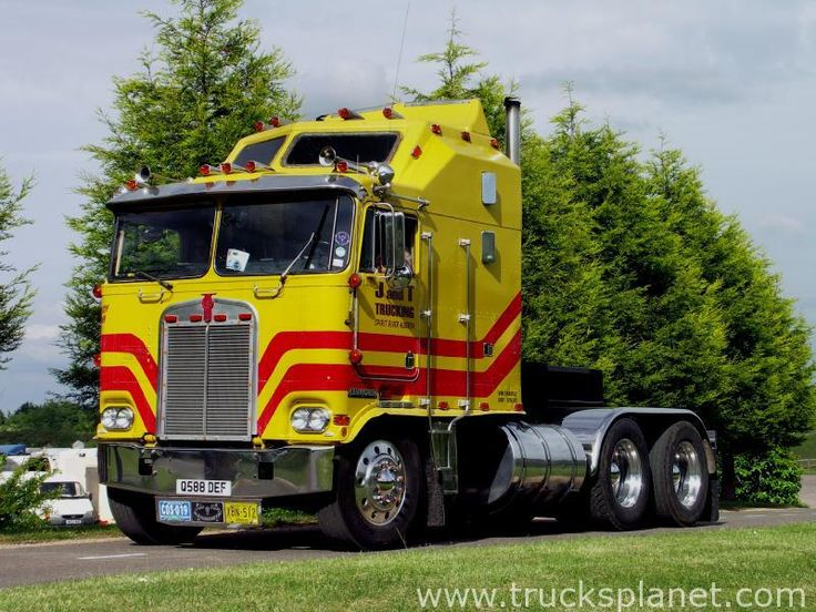 Kenworth - K100A / K100C (Commercial vehicles) - history, photos, PDF broshures