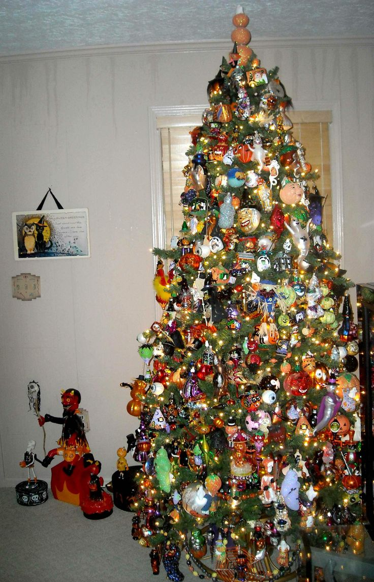 36 Best Images About Halloween Tree On Pinterest Trees