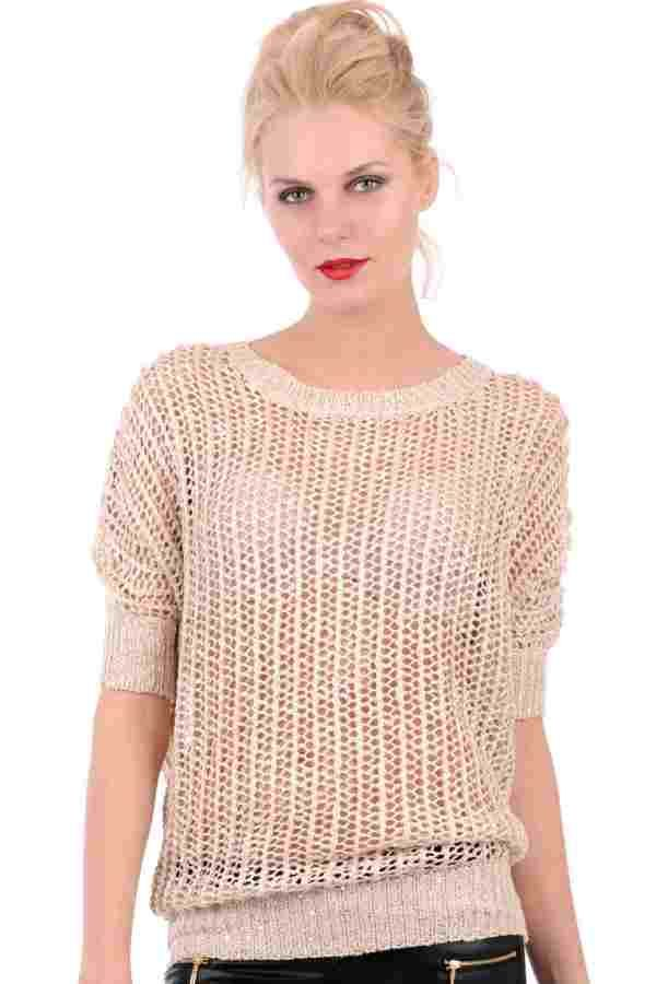 Glitzy Crochet Batwing Top With Sequins (FD50136)£15.99