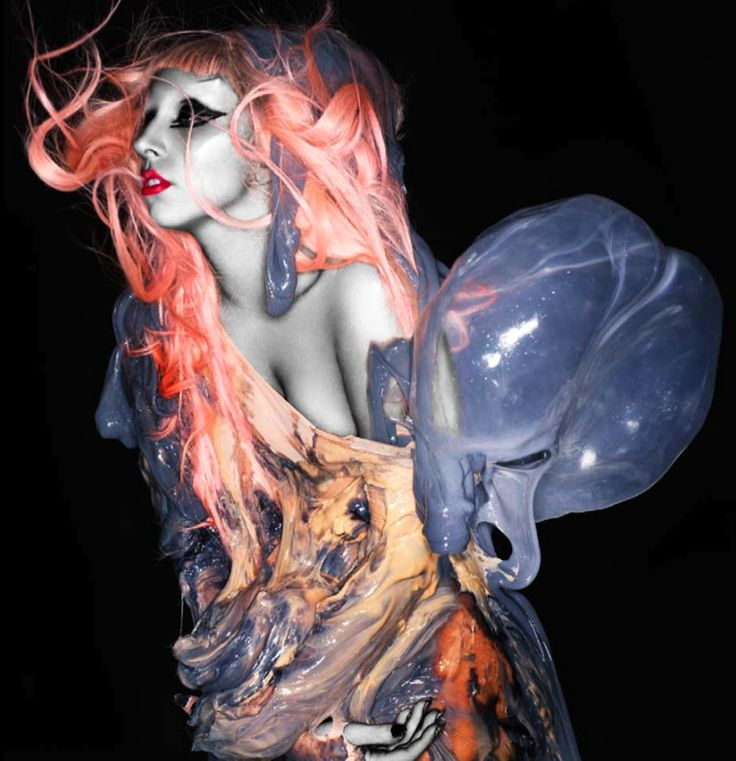 LADY GAGA (BORN THIS WAY) by NICK KNIGHT