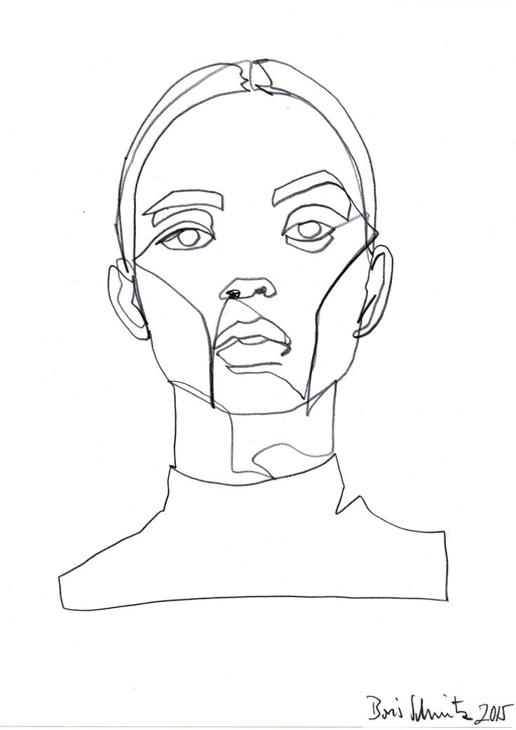 Line Drawing Of Face : Best simple line drawings ideas on pinterest