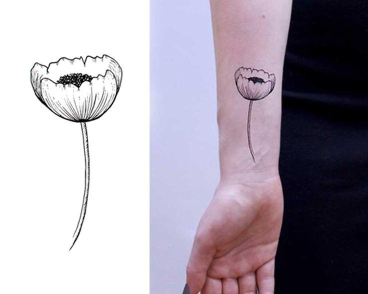 Poppy in Black Ink :: Inktion