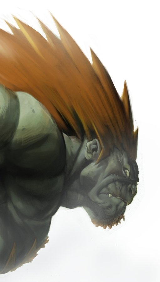 """Blanka from Street Fighter"" by ?? 