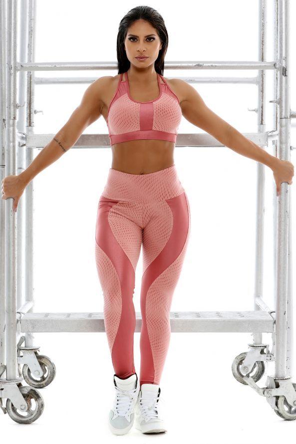39219759e20 Top Luxury em Textura Emborrachada - Donna Carioca - Moda fitness com preço  de fábrica