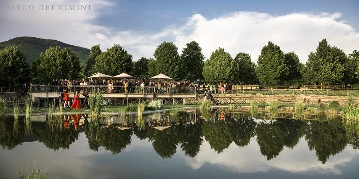 Terrazza su bio lago per ricevimenti o pool party