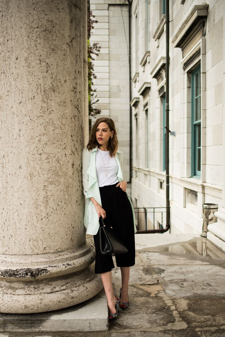A Variety of Ways to Style Your Black & White Pieces