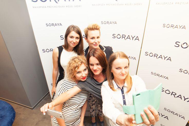 Klub Przyjaciółek Soraya - 5 różnych dziewczyn z 5 różnych miejscowości i 5 różnych blogów oraz świetny dzień spędzony w agencji Lemon Sky :)