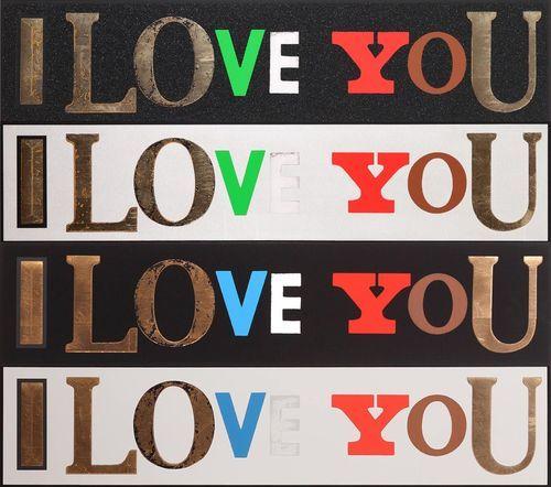 Peter Blake, I Love You, 2010