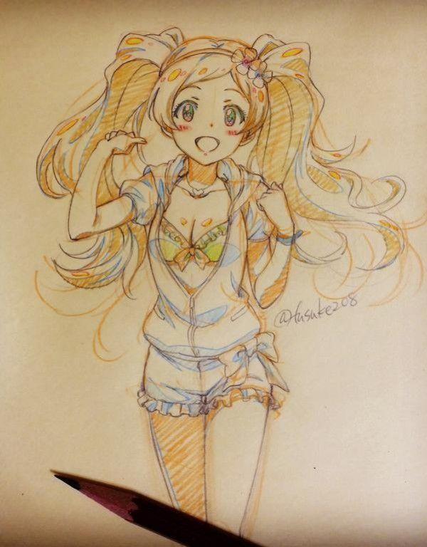 Dessin aux crayons de couleurs par fusuke208 <a href='http://www.tvhland.com/boutique/crayon-de-couleur.html' target='_blank'>http://www.tvhland.com/boutique/crayon-de-couleur.html</a>