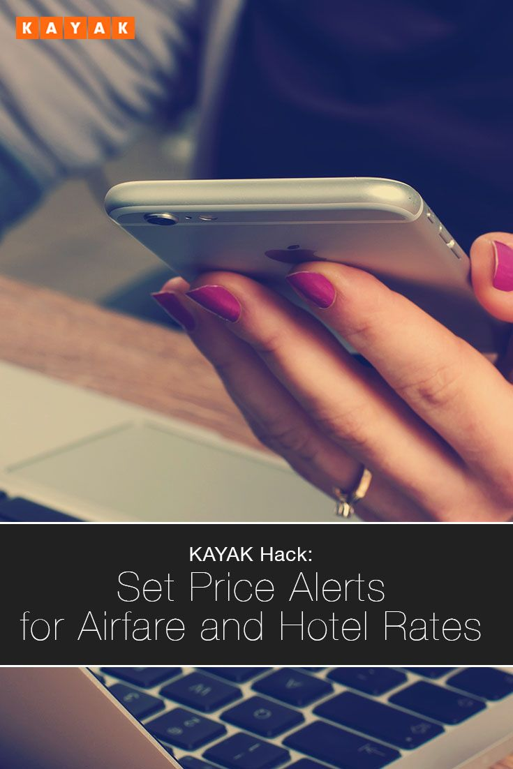 Find out when prices change with Price Alerts, which searches while you're offline and notifies you with a text or email when hotel rates or airfare change.
