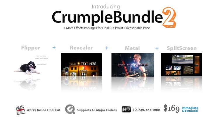 CrumplePop FCPX Plug-Ins