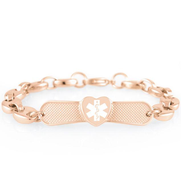 Kelsey Medical Id Bracelet Medic Alert Bracelets Alert Bracelet Bracelets