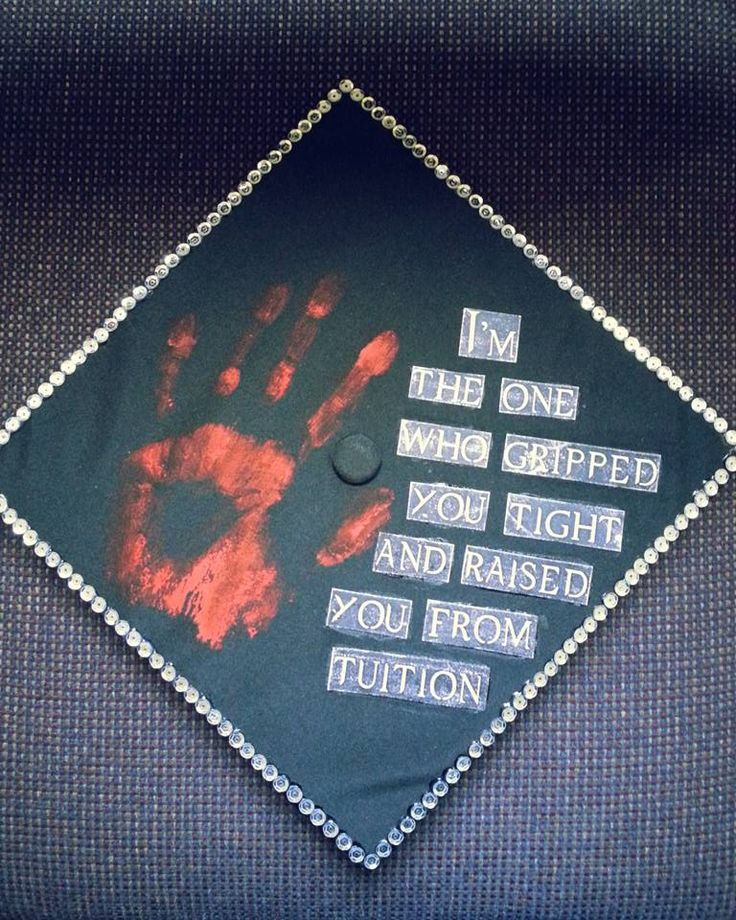 Hey everyone check out my graduation cap! I'm really proud of this!