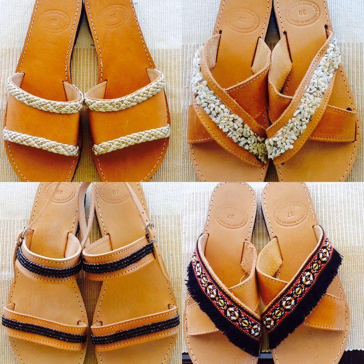 Handmade Greek sandals!!! Genuine leather!! All sizes!!! Free shipping!!! 50 euros!!! Contact sofi_r@windowslive.com