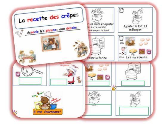 Pâte à crêpes. 4 Versions : syllabée, avec dés pour les enfants avec troubles de structuration, TBI et correctif.