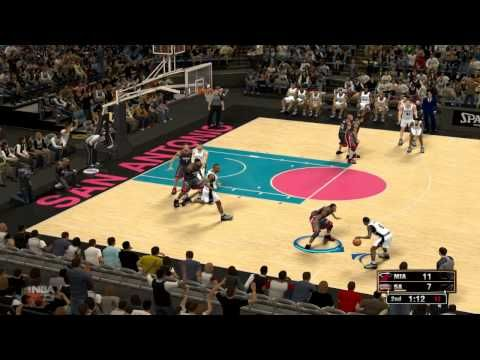 The Hindi Gamer NBA 2k13 Mami Heat vs San Antonio Spurs - Hindi Gameplay...