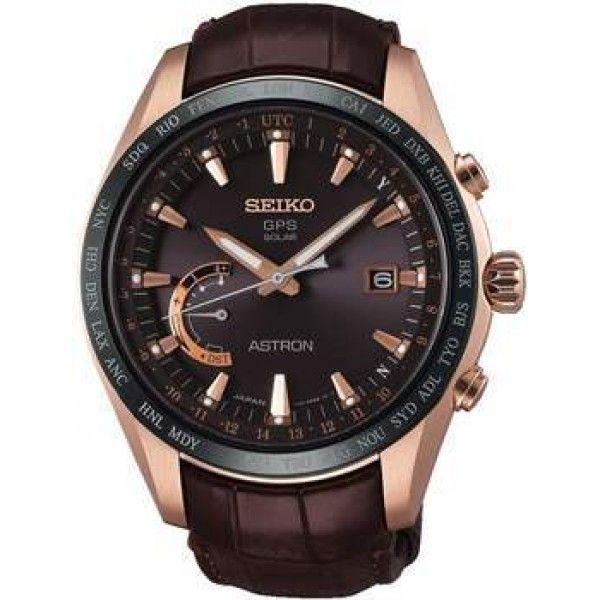 FREE SHIPPING #amazing #beautiful #accessories #Seiko #watches #lifestyle #design #fashion #mensfashion #womensfashion Buy now https://feeldiamonds.com/swiss-luxury-watches-for-men-women/seiko-watches-offers-online/seiko-sse096j1-men's-astron,-brown-dial-watch's-astron,-brown-dial-watch