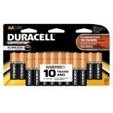 Duracell Coppertop AA Batteries, 20-Count (Health and Beauty)By Duracell