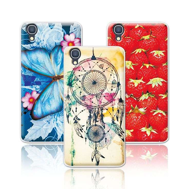 >> Click to Buy << Women Girls Beautiful Floral Painting Case For Alcatel One Touch Idol 3 4.7 inches 6039 6039A 6039K 6039Y Skin Shell Back Cover #Affiliate