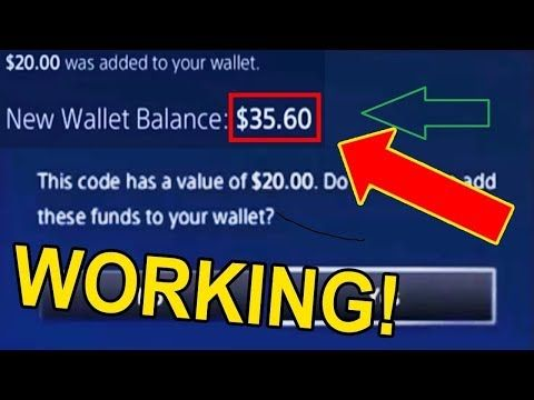 6) how to get free psn codes 2018/ psn codes giveaway/ fortnite how