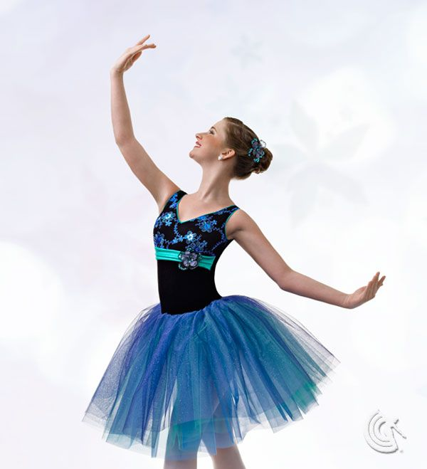 Curtain Call Costumes Glimmer In The Night Black Stretch Velvet And Jade Nylon Spandex