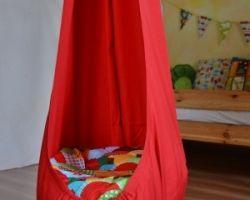 GitaMom Swing Chair, Indoor Outdoor Hanging Seat, Reading Nook