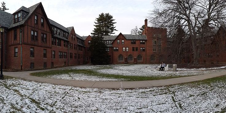 Cushing House (formerly called Cushing Hall) is a four-story co-ed dormitory on Vassar College's campus in the town of Poughkeepsie, New York.