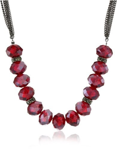 "Kenneth Cole New York ""Modern Garnet"" Red Faceted Bead Necklace Kenneth Cole New York, http://www.amazon.com/dp/B0091SRD34/ref=cm_sw_r_pi_dp_uJNZqb1H4MYFV"
