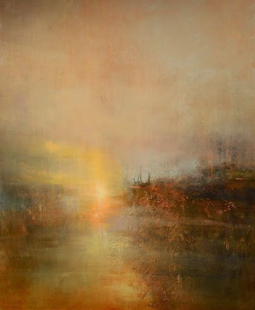 "SAATCHI ART -  Happy Birthday to J.M.W Turner, whose masterful handling of light is celebrated in this work, ""Turner's Cove,"" by Saatchi Art's Maurice Sapiro. http://goo.gl/4xvaXb  Browse more of Maurice's luminous paintings: http://goo.gl/jqwr0n"