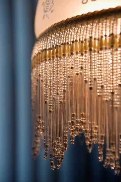 How To Make A Beaded Ceiling Light Fixture Cover Light