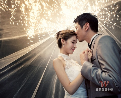 korean wedding shoots