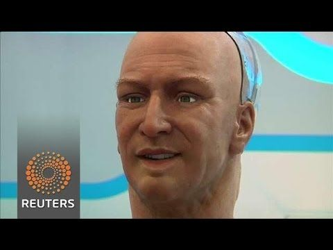 HUMANOID ROBOT CAN RECOGNISE & INTERRACT WITH PEOPLE - technology is always much more advanced than they allow us to see.