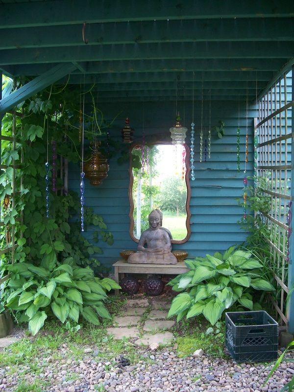 54 Elegant Zen Garden Decorating Ideas For Your Backyard Buddha