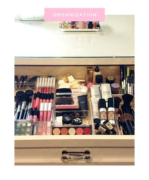Best Beauty Organization Tips Images On Pinterest Acrylic - Container store makeup organizer
