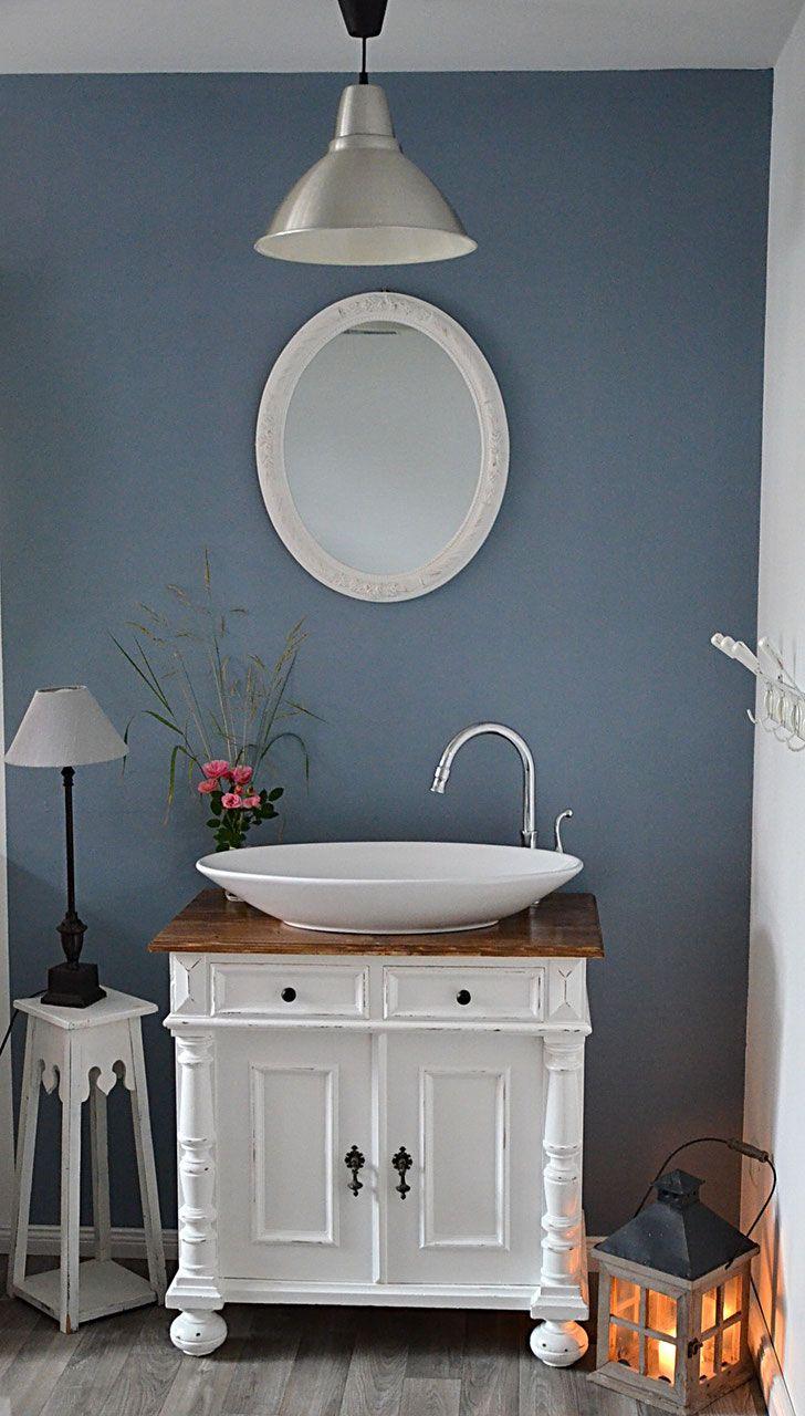 diann nostalgischer waschtisch von land und liebe badm bel landhaus bathroom pinterest. Black Bedroom Furniture Sets. Home Design Ideas