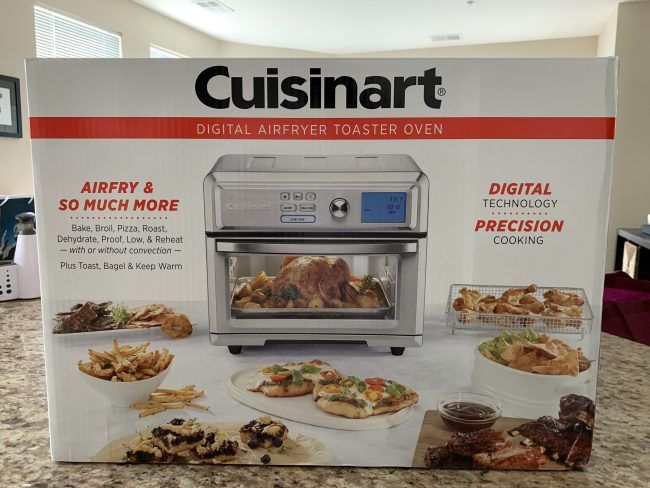 Cuisinart S Air Fryer Toaster Oven Finger Foods Made A Bit