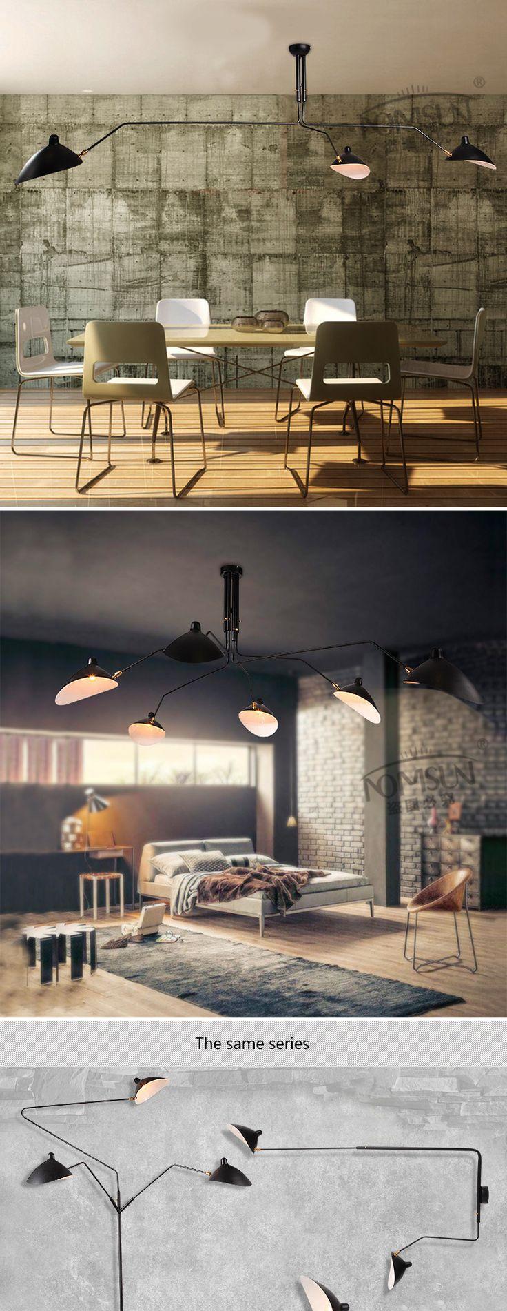 Rétro vintage pendentif lumières restaurant éclairage lampara colgante de techo lampe moderne led salle à manger