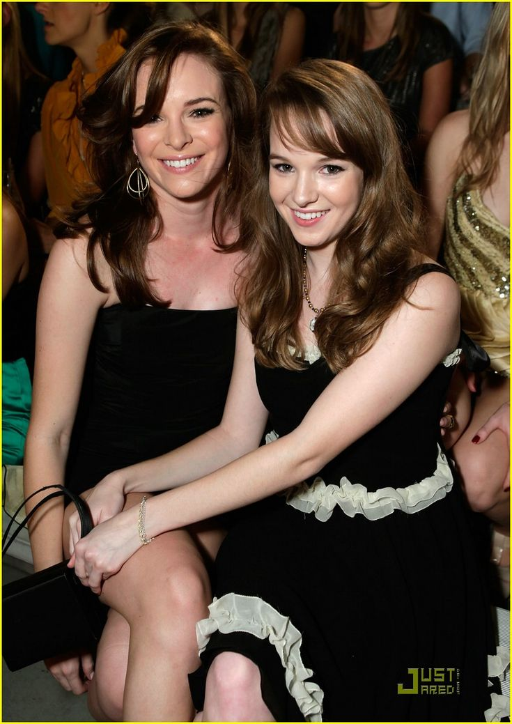 Sisters Danielle and Kay Panabaker