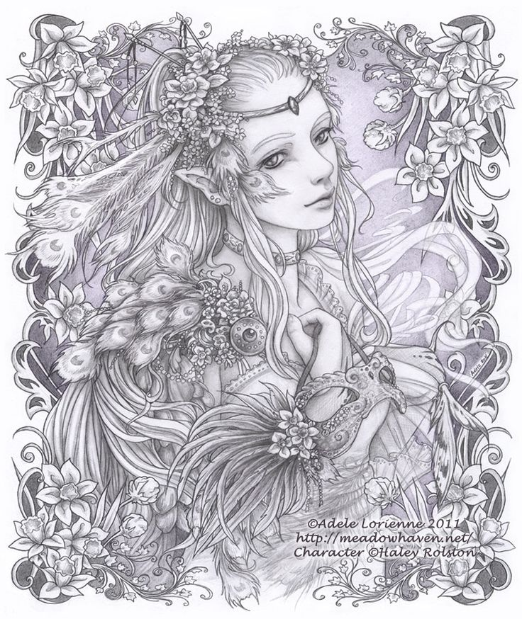 masquerade adult coloring pagesfairy - Cool Coloring Pages For Adults