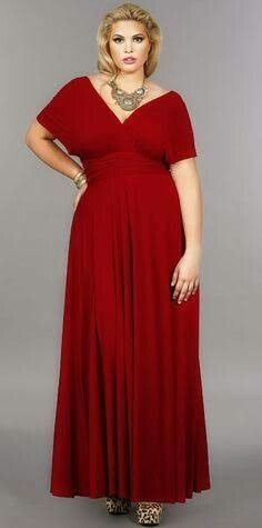Plus Size Infinity Dress Infinity Dress Plus Size
